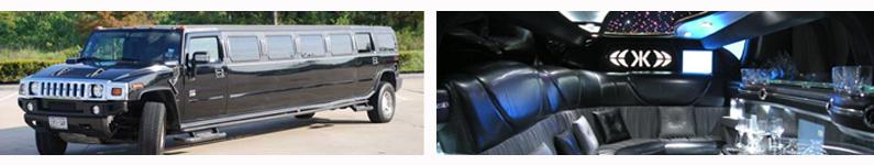 Black H2 Hummer Limousine